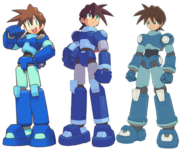 Megaman Legends Variations